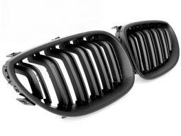 Решётка радиатора BMW E60 / E61 (03-10) - M5 чёрная матовая