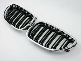Решётка радиатора BMW E60 / E61 (03-10) - M5 хром рамка