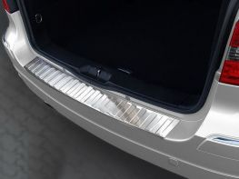 Накладка на бампер MERCEDES B W245 (05-08) - стальная
