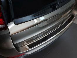 Накладка на задний бампер BMW X5 F15 (13-18) - карбон
