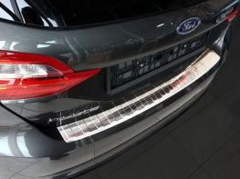 Накладка на задний бампер FORD Fiesta Mk8 (17-) HB - Avisa