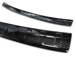 Накладка на бампер AUDI Q3 II (F3; 18-) - Avisa (карбон)