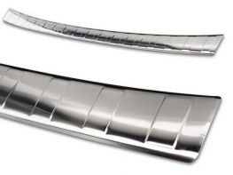 Накладка на бампер KIA Ceed III (18-) 5D Hb - Avisa (сталь)