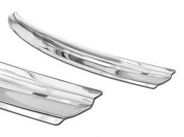 Накладка на бампер KIA XCeed (19-) - Avisa (сталь)