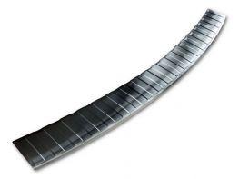 Накладка на бампер HYUNDAI Elantra VI (16-20) - Avisa (чёрная)