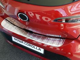 Накладка на бампер TOYOTA Corolla XII (19-) Hatchback