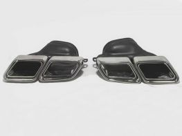Насадки на глушитель MERCEDES S W222 (14-20) - S63 AMG стиль