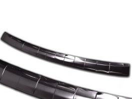 Накладка на задний бампер SKODA Octavia A8 (20-) Combi - Avisa (чёрная)