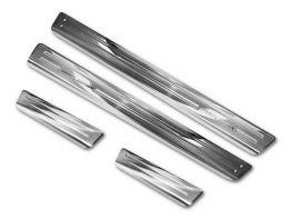 Накладки на пороги VW Arteon (17-/20-) - стальные