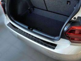 Накладка на задний бампер VW Polo VI (17-) HB - чёрная