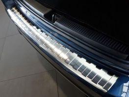 Накладка на бампер MERCEDES B W247 (18-) - Avisa (стальная)