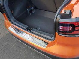 Накладка на бампер VW T-Cross (19-) - Avisa (стальная)