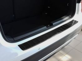 Накладка на бампер VW T-Cross (19-) - Avisa (карбон)