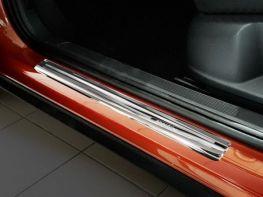 Накладки на пороги VW T-Roc (17-) - Avisa (стальные)