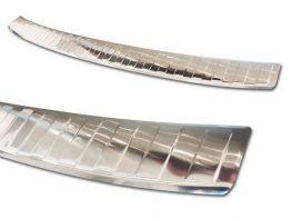 Накладка на задний бампер BMW X2 F39 M (18-20) - Avisa (стальная)