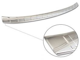 Накладка на бампер AUDI Q3 II (19-) Sportback - Avisa (сталь)