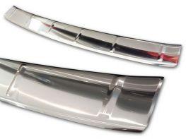 Накладка на бампер BMW 6 GT G32 (17-/20-) - Avisa (сталь)