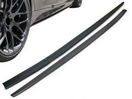 Диффузоры порогов BMW 5 G30/G31 M (17-) - M-Performance (матовые)