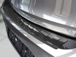 Накладка на бампер OPEL Corsa F Elegance / Edition - чёрная