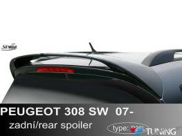 Спойлер PEUGEOT 308 (08-13) SW - STYLLA