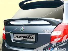 Спойлер SKODA Fabia II (07-14) Hatchback - нижний