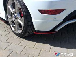 Сплиттера задние FORD Fiesta Mk7 ST (2013-) рестайлинг