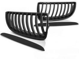 Решётка радиатора BMW E90 / E91 (05-08) - чёрная матовая
