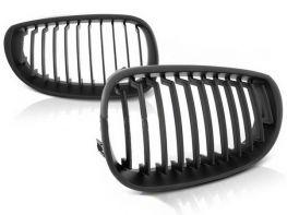 Решётка радиатора BMW E60 / E61 (03-10) - чёрная