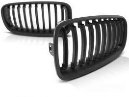 Решётка (ноздри) BMW 3 F30 / F31 (12-18) - чёрный мат