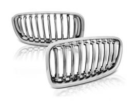 Решётка (ноздри) BMW 3 F30 / F31 (12-18) - хром