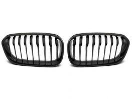 Решётка BMW 1 F20 / F21 (15-19) LCI - чёрная глянцевая