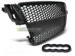 Решётка радиатора AUDI A5 (07-11) - чёрная RS стиль