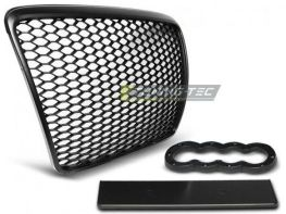 Решётка радиатора AUDI A6 C6 (2009-2011) RS чёрная