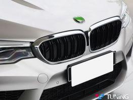 Решётка радиатора BMW 5 G30/G31 (2017-) - M5 хром