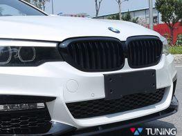 Решётка радиатора BMW 5 G30/G31 (2017- ) - чёрная