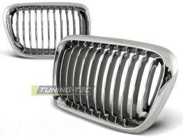 Решётка радиатора BMW E36 (1996-2000) хром