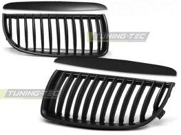 Решётка радиатора BMW E90 / E91 (05-08) - чёрная