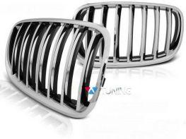 Решётка радиатора BMW X5 E70 / X6 E71 ХРОМ