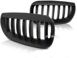 Решётка радиатора BMW X3 E83 (03-06) чёрный мат