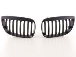 Решётка радиатора BMW 1 E87 / E81 (04-07) - чёрная матовая