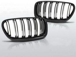 """Решётка (ноздри) BMW 5 F10/F11 (10-13) """"M5"""" чёрная глянец"""