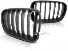 Решётка радиатора BMW X3 F25 (11-14) чёрный мат
