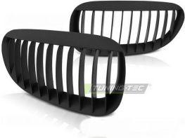 Решетка радиатора BMW E63 / E64 (03-10) - чёрная матовая