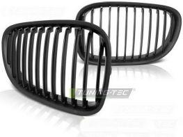 Решётка радиатора BMW F01 (08-12) - чёрная матовая