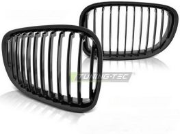 Решётка радиатора BMW F01 (09-12) - чёрная глянцевая