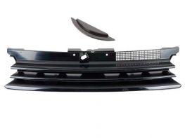 Решётка радиатора VW Golf IV (97-03) - чёрная