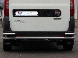 Задняя труба с углами FIAT Doblo II (2010-)