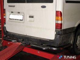 Защита заднего бампера FORD Transit (2006-2013) подножки