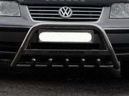 Кенгурятник VW Sharan II (7N) (2010-) - с грилем