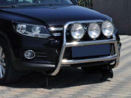 Кенгурятник VW Tiguan I (2007-2015) высокий